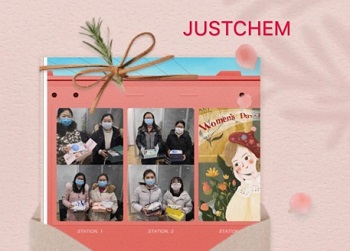 Happy 2020 Womens day in JUSTCHEM