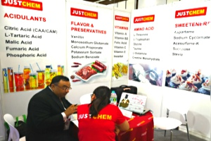 JUSTCHEM in 2018 FIA Indonesia (Jakarta Food ingredients 03/05 October 2018)